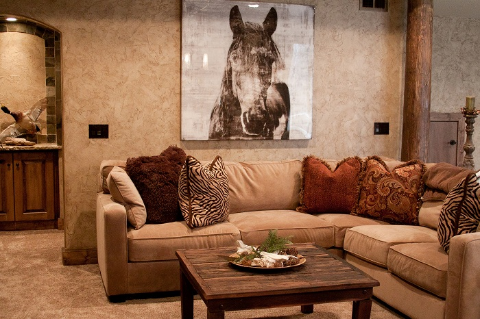 Rustic home decoration gives your home a fresh look for American home decor